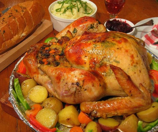 Stuffed Turkey Roast (Photo courtesy by zobeiry from Flickr)