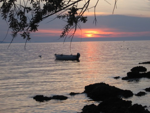 Lovely sunset in Zadar (Diklo) by Tatjana-Mihaela Pribic