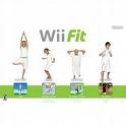 wii fit stock photo