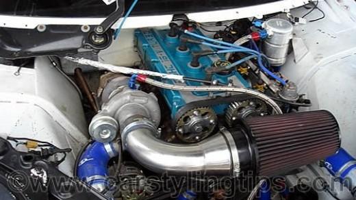 Engine bay styling