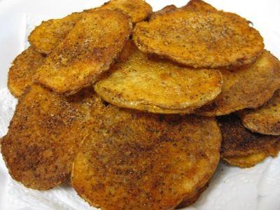 Spicy Sliced Potato Fries