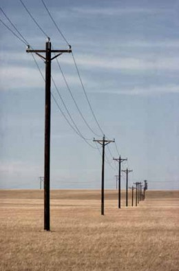Miles of Telephone Poles