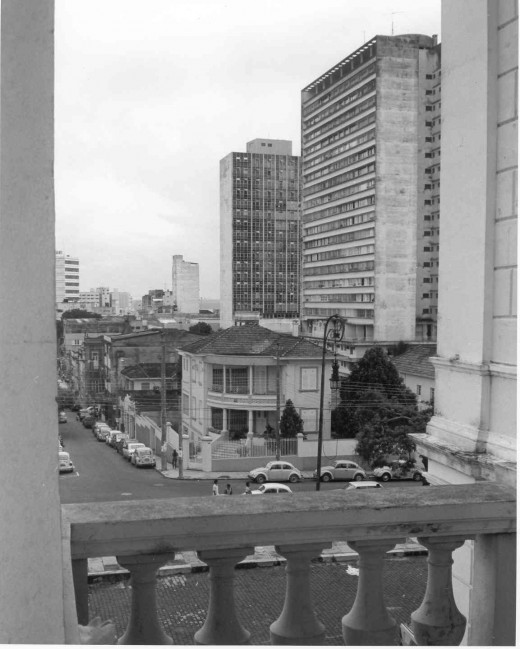 Modern and Old  Manaus from Opera House Balcony