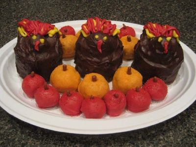 Pumpkins, Apples, and Turkeys, Oh My!