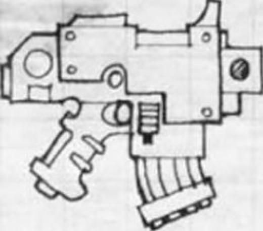 warhammer 40k bolt pistol