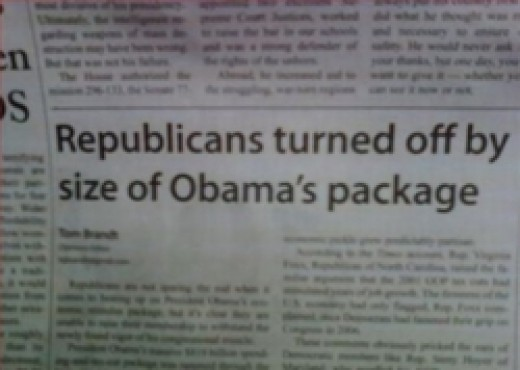 Obama's Package Too Large?