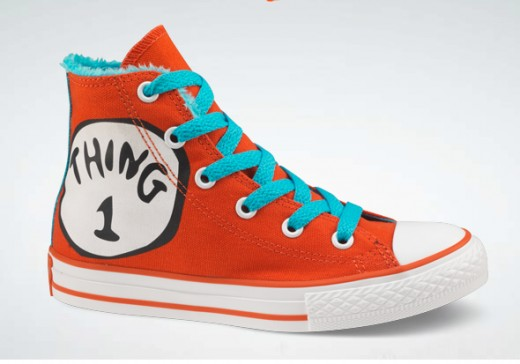 Dr Seuss Baby Converse Shoes
