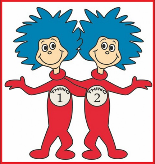 Learn to draw Thing 1 and Thing 2