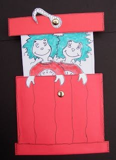 Release your inner thing - Thing 1 and Thing 2 Craft