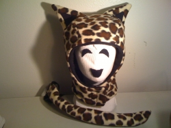 Leopard Hood And Tail