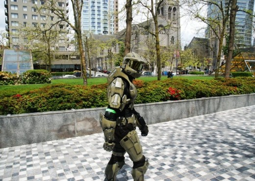 master chief in vancouver