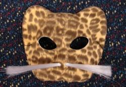 Leopard Kitty Cat Mask by FantasyStock on deviantArt