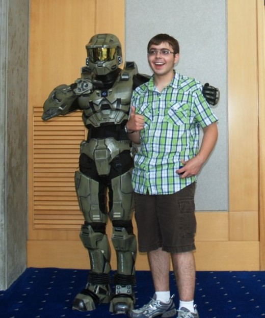 Master Chief's biggest fan