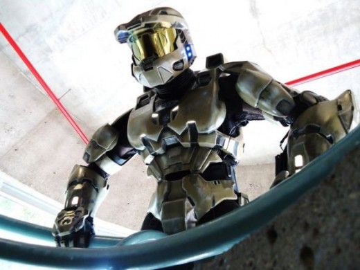 Master Chief Armor at Comic Convention in Calgary AB June, 2011