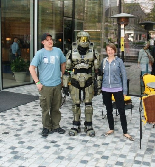 Halo Master Chief and fans
