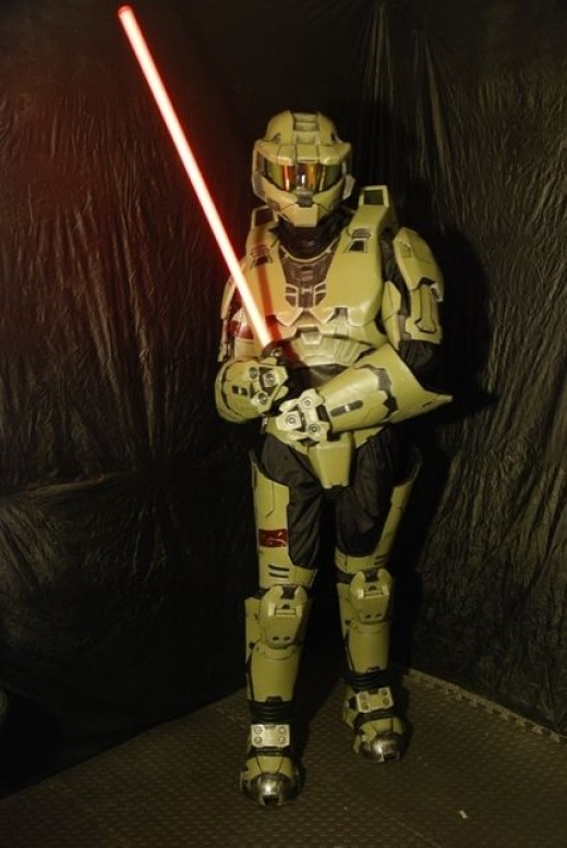 If we mix up our fantasy universes we come up with jedi spartans