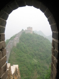 And the Great Wall of China