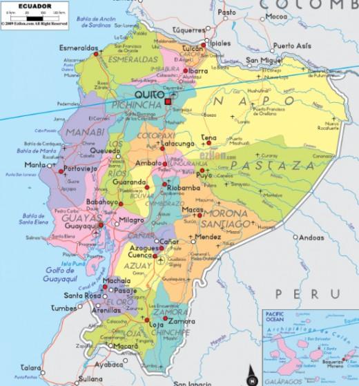 Ecuador, click for bigger view