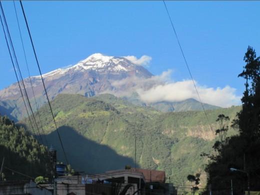 The Tungurahua Volcano.