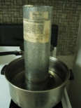 Dipping Vat on Stove Top.