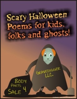 Scary Halloween Poems for kids, folks and ghosts!