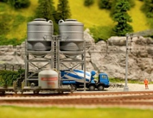 model train terrain