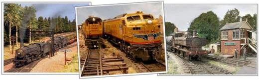 model train terrrain