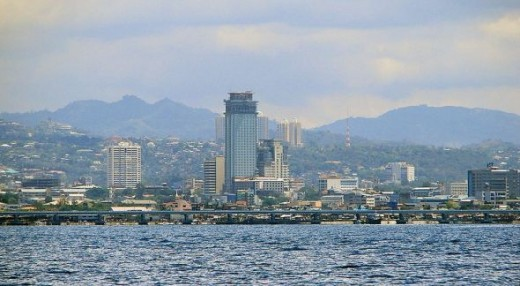 Cityscape of Cebu
