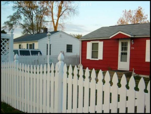 Just our homes side by side.