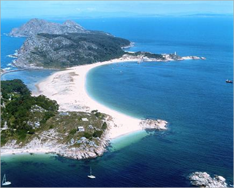Las Islas Cies â Galicia, Spain