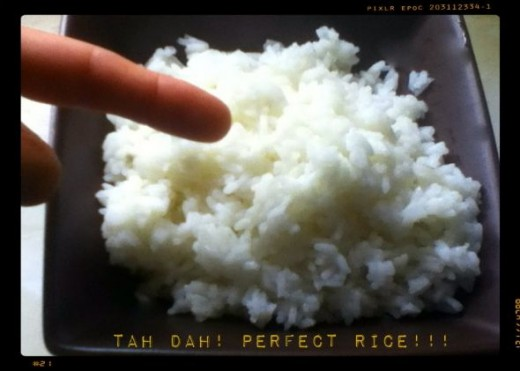 Perfect Cooked Rice