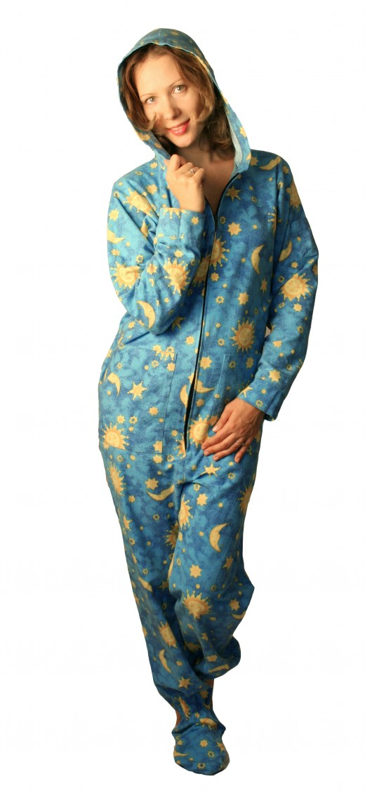 Kajamaz Footed Pajamas