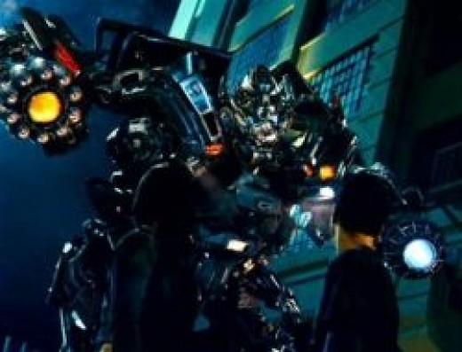 Ironhide Transformer toy