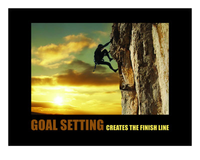 Goal Setting Creates the Finish Line