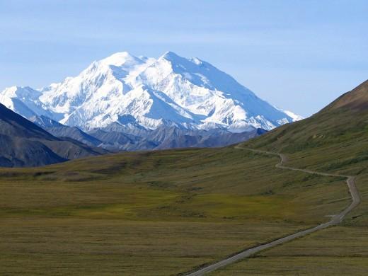 Mount McKinley, Alaska, 20,320 ft