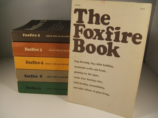These are a pic of The Foxfire Books