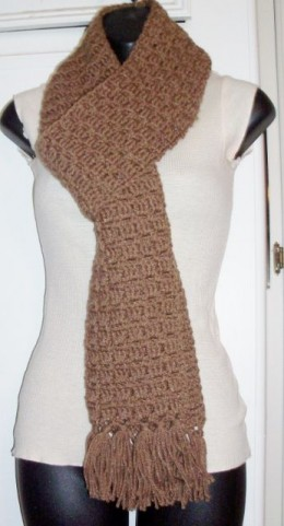 One of MANY Scarves that My Mom and I make