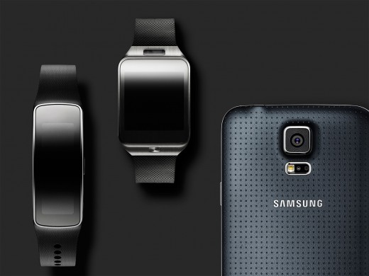 The New Samsung Gear 2, Gear Fit and Galaxy S5