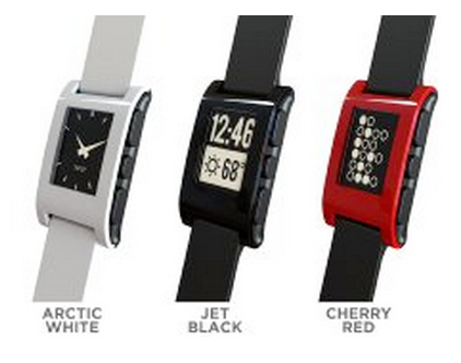 Pebble Watch (3 colors)