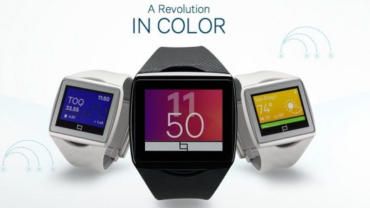 Qualcomm Toq Color Selection
