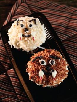 Wolf-Bitten Cupcakes