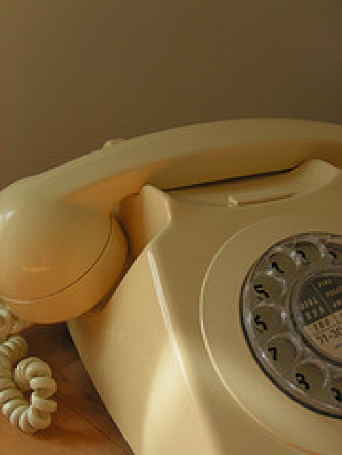 Skype can call this old fashioned Phone any where in the world for a very small fee. inter computer calls are free.