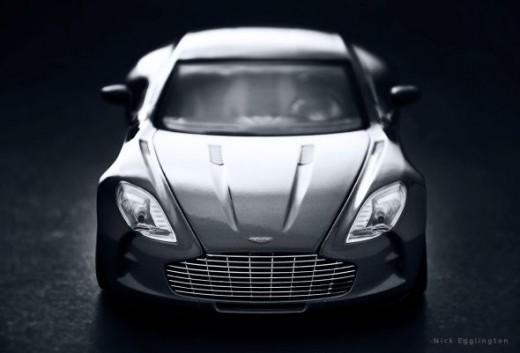 Aston Martin One-77 Scale Model
