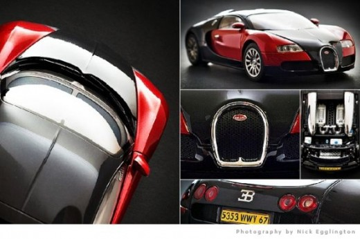 Bugatti Veyron scale model