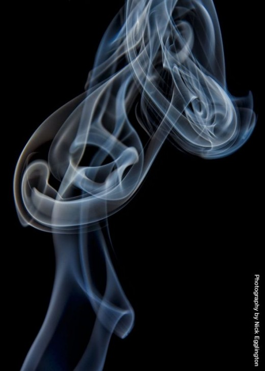The heart of the smoke.