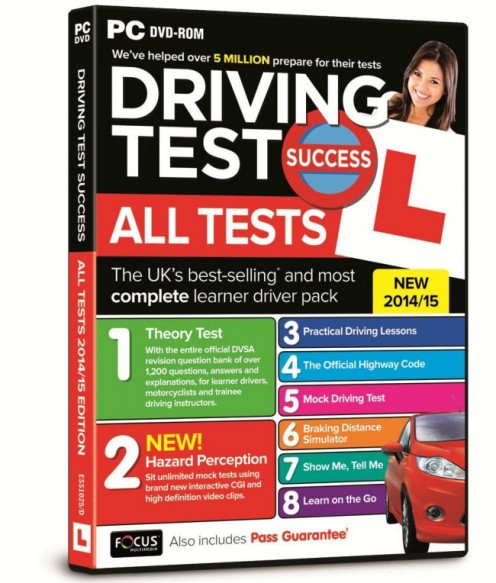 Driving Test Success All Tests 2014/15 (PC or Laptop)