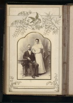 My father's parents - married on 16 February 1898 in Dunedin, New Zealand