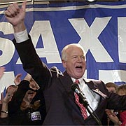Virtually Unknown In Georgia, Saxby Chambliss Used The Politics Of Fear To Defeat Cleland