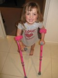 Five Year Old Kaitlyn's Wish to Walk