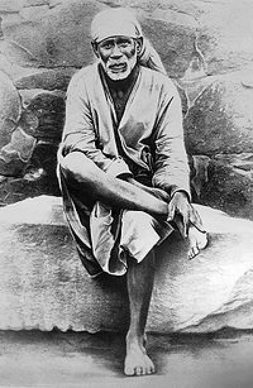 Original Image of Sri Shirdi Sai Baba